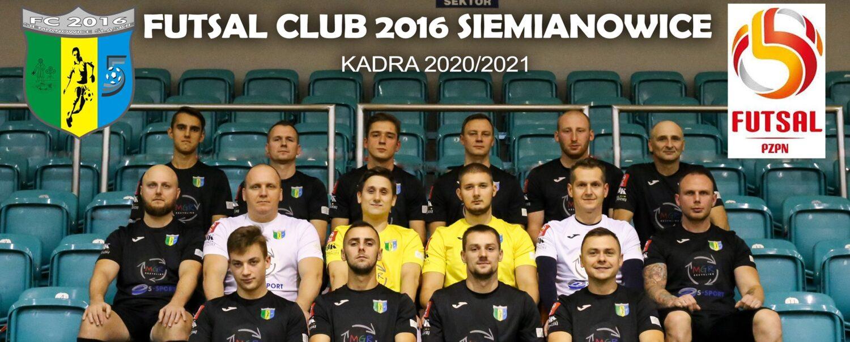Oficjalna strona internetowa Futsal Club 2016 Siemianowice Śląskie
